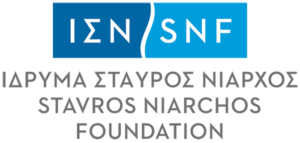 stavros niarchos foundation logo with link to the website